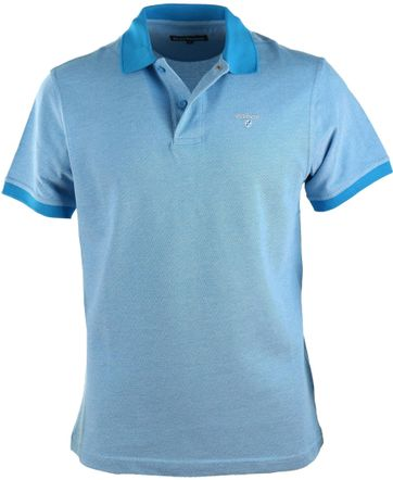 Barbour Polo Blau