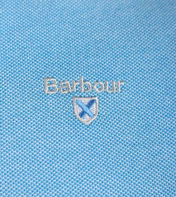 Detail Barbour Polo French Blue