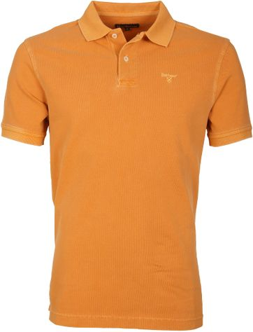 Barbour Poloshirt Orange Wash