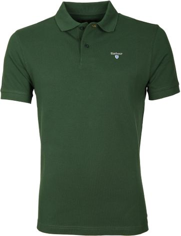 Barbour Poloshirt Racing Green