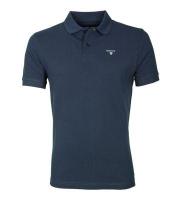 Barbour Poloshirt Uni Blau