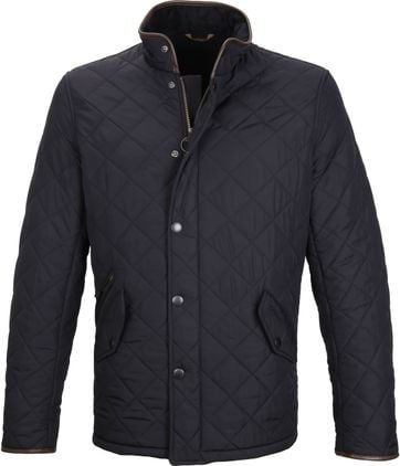 Barbour Powell Jack Navy