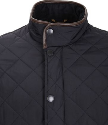 Barbour Powell Jacke Dunkelblau