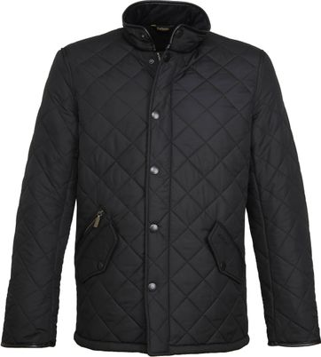 Barbour Powell Quilt Jacket Black