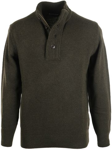 Barbour Pullover Patch Groen