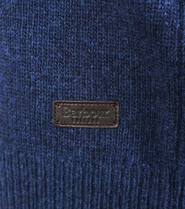 Detail Barbour Pullover Patch Navy