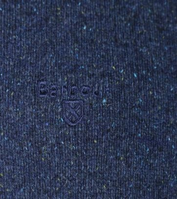 Detail Barbour Pullover Tisbury Navy