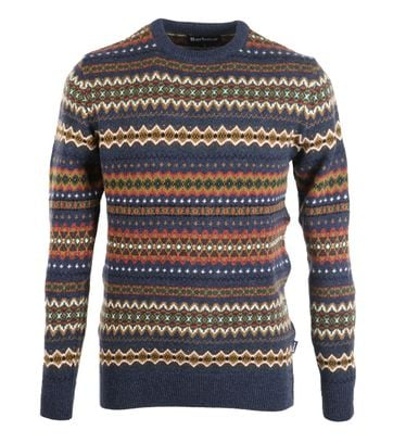 Barbour Pullover Wol Dessin