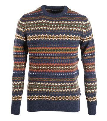Barbour Pullover Wolle Dessin
