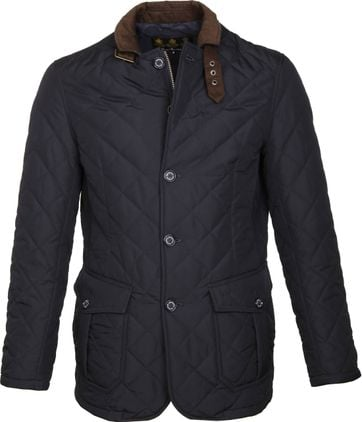 Barbour Quilted Jack Navy