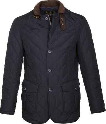 Barbour Quilted Jacke Dunkelblau
