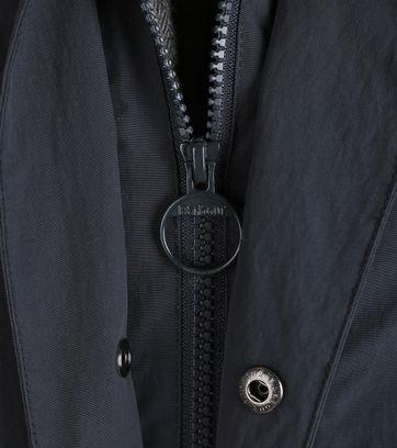 Detail Barbour Rivington Jack Donkerblauw