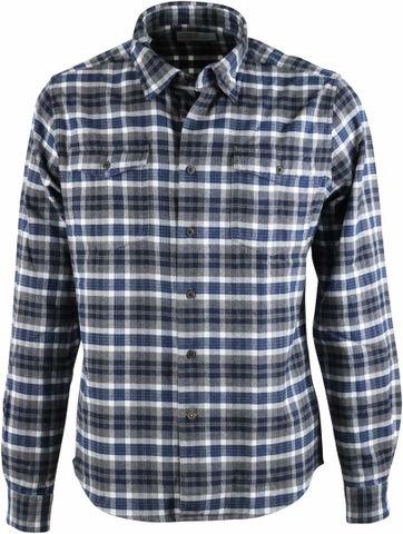 Barbour Rowlock Hemd Grau