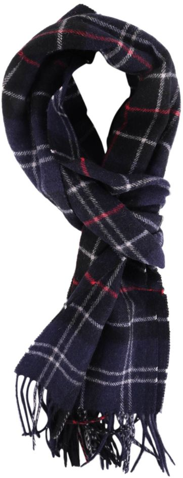 Barbour Scarf Colton Navy