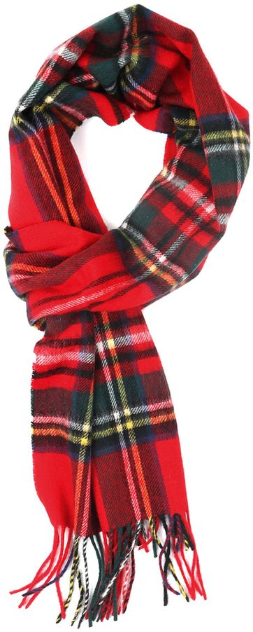 Barbour Scarf Stewart Royal
