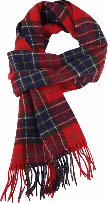 Barbour Scarfs Cardinal Red