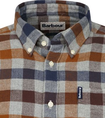 Barbour Shirt Diamant Copper