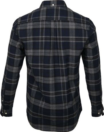Barbour Shirt Diamant Dunkelbau