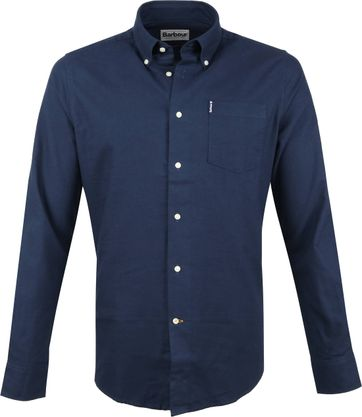 Barbour Shirt Dunkelblau