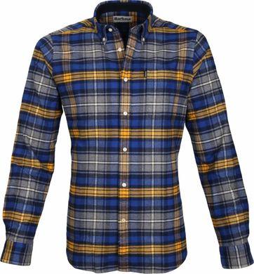 Barbour Shirt Endsleigh Highland Blue