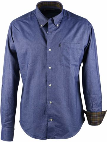 Barbour Shirt Oxford Navy