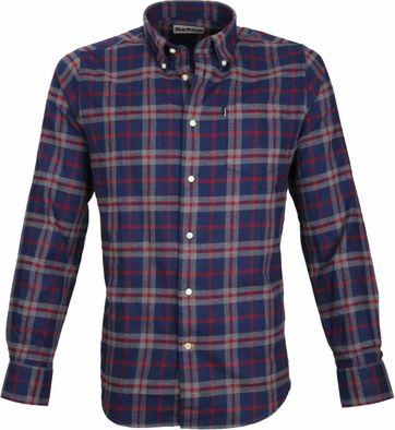 Barbour Shirt Stapleton Seth Navy