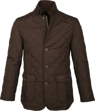 Barbour Steppjacke Lutz Braun
