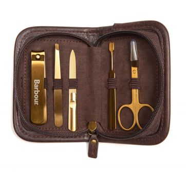 Barbour Tarten Manicure Kit