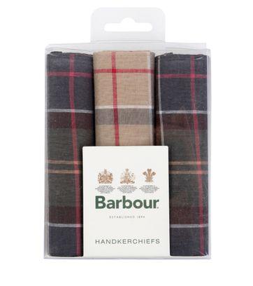 Barbour Taschentücher 3-Pack