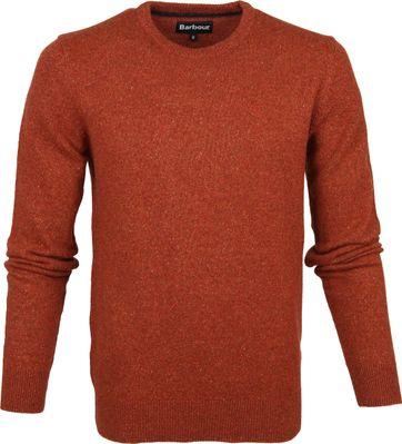 Barbour Tisbury Pullover Rust