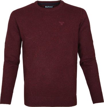Barbour Tisbury Trui Bordeaux