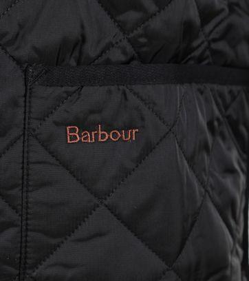 Detail Barbour Voering Modern Tart Zwart
