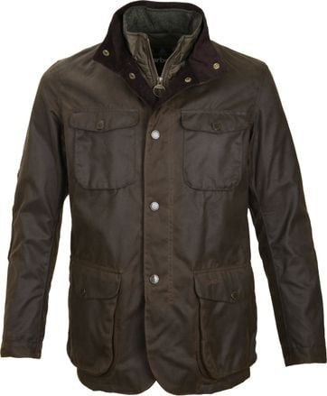 Barbour Wachsjacke Ogston Olive