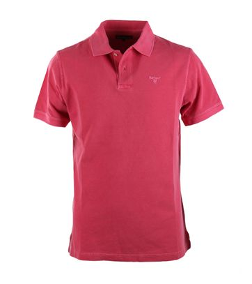 Barbour Washed Polo Fuchsia