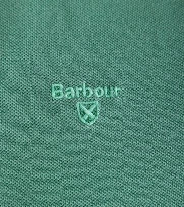 Detail Barbour Washed Polo Groen