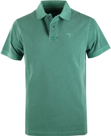 Barbour Washed Polo Groen