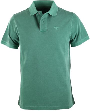 Barbour Washed Polo Grün