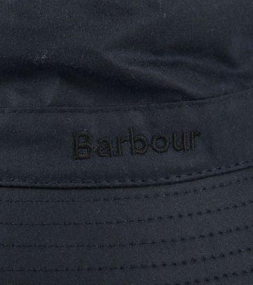 Barbour Wax Hat Navy
