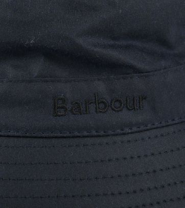 Barbour Wax Hoed Navy