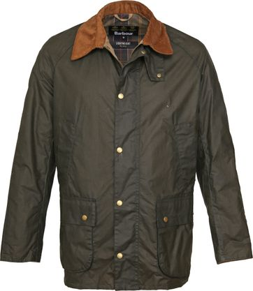 Barbour Wax Jacket Ashby Darkgreen