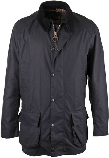 Barbour Wax Jacket Bristol Navy