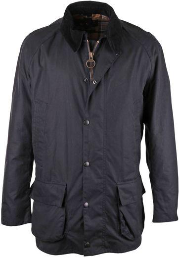 Barbour Wax Jacket Bristol Navy