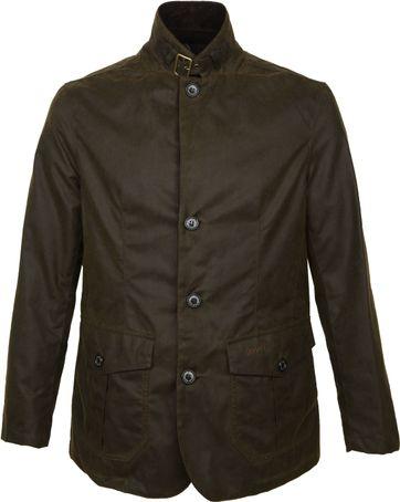 Barbour Wax Jacket Lutz Olive