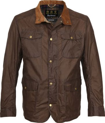 Barbour Wax Jacket Ogston Brown