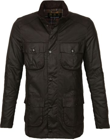Barbour Waxjas Corbridge Olive