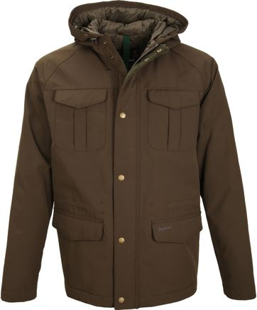 Barbour Whistable Jacke Oliv