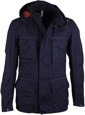 Barbour Zomerjas Rig Donkerblauw