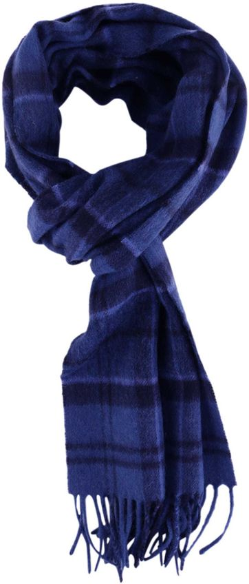 BarbourScarf Holden Tartan Blue