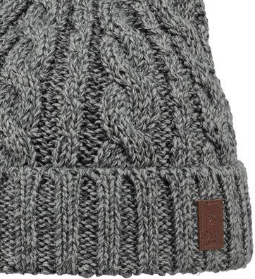 Detail Barts Beanie Twister Grau