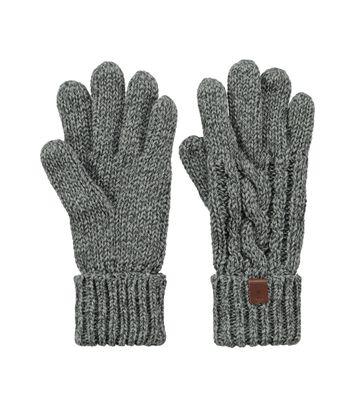 Barts Gloves Twister Grey